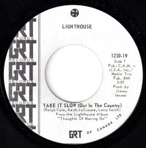 Take It Slow (Out In the Country) by Lighthouse
