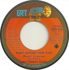 Right Before Your Eyes by Ian Thomas Band