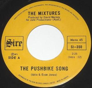 The Pushbike Song by The Mixtures
