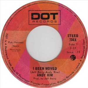 Andy Kim - I Been Moved 45 (Dot Canada)