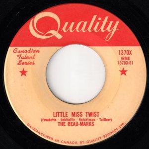 Lovely Little Lady/Little Miss Twist by The Beau-Marks