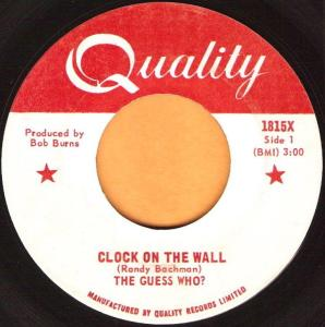 Guess Who - Clock On The Wall 45 (Quality)
