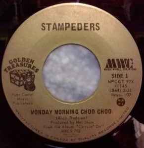 Monday Morning Choo Choo by The Stampeders