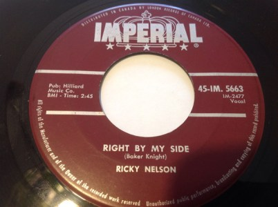 Right By My Side by Ricky Nelson