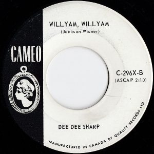 Willyam, Willyam by Dee Dee Sharp