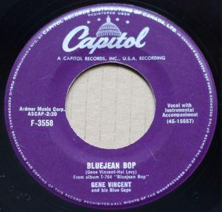 Bluejean Bop by Gene Vincent