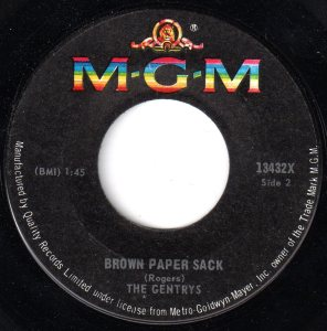 Brown Paper Sack/Spread It On Thick by The Gentrys