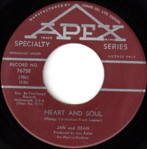 Heart And Soul by Jan And Dean