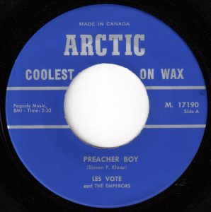 Preacher Boy by Les Vote And The Emperors