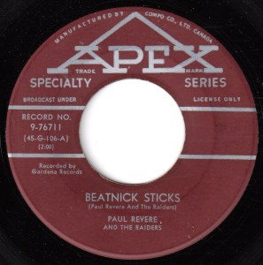 Beatnik Sticks by Paul Revere And The Raiders