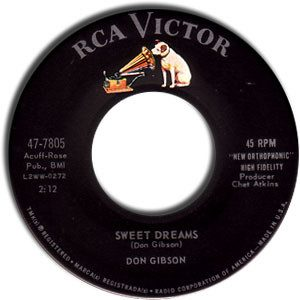 Sweet Dreams by Don Gibson