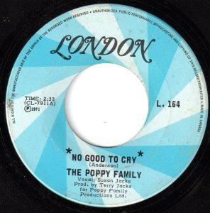 No Good To Cry by The Poppy Family