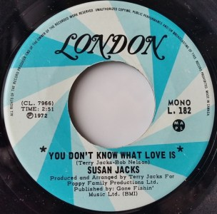 You Don't Know What Love Is by Susan Jacks