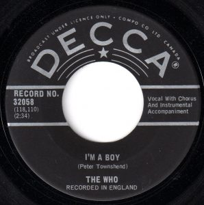 I'm A Boy by The Who