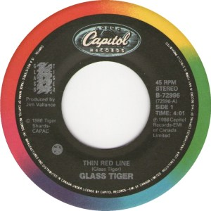 Thin Red Line by Glass Tiger