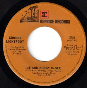 Me And Bobby McGee by Gordon Lightfoot