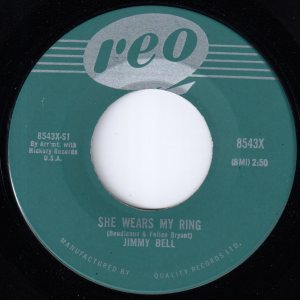 She Wears My Ring by Jimmy Bell
