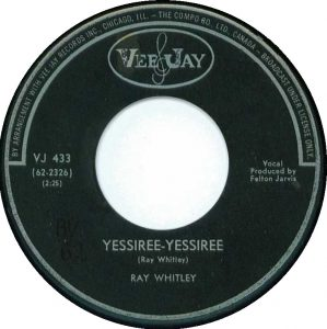 Yessiree-Yessiree by Ray Whitley