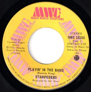 Playin' In The Band by The Stampeders