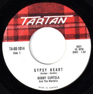 Gypsy Heart by Bobby Curtola