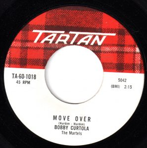 Move Over by Bobby Curtola