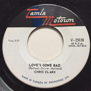 Love's Gone Bad by Chris Clark