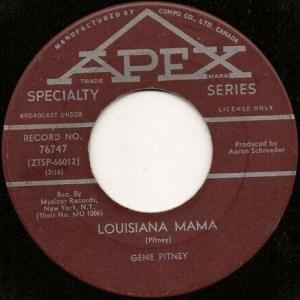 Louisiana Mama by Gene Pitney