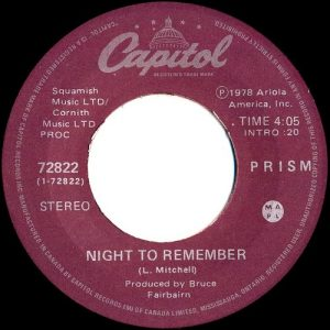Night To Remember by Prism