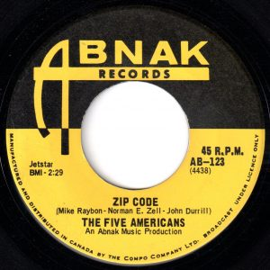 Zip Code by The Five Americans