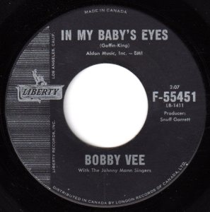 In My Baby's Eyes by Bobby Vee