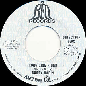 Long Line Rider by Bobby Darin