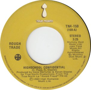 High School Confidential by Rough Trade
