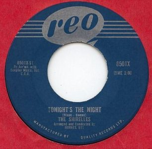 Tonight's The Night by The Shirelles