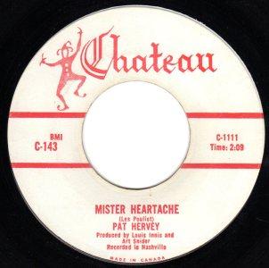 Mister Heartache by Pat Hervey