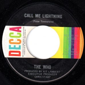 Call Me Lightning by The Who