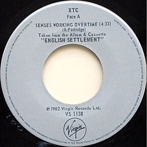 Senses Working Overtime by XTC