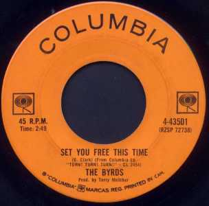 It Won't Be Wrong/Set You Free This Time by The Byrds