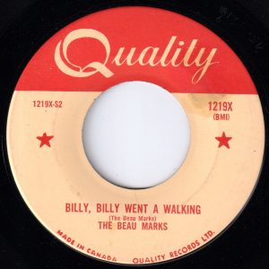 Billy, Billy Went A Walking by The Beau Marks