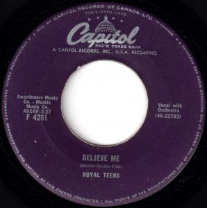 Believe Me by Royal Teens