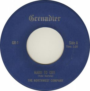 Hard To Cry ~ Northwest Company