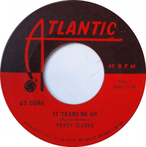 It Tears Me Up by Percy Sledge