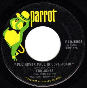 I'll Never Fall In Love Again by Tom Jones