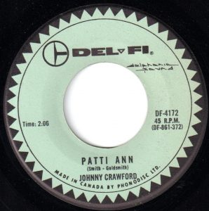 Patti Ann by Johnny Crawford