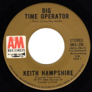 Big Time Operator by Keith Hampshire