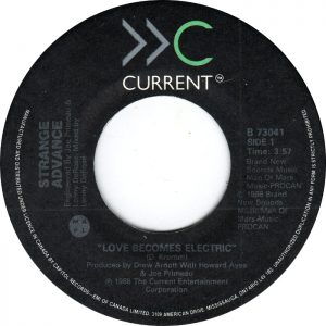 Love Becomes Electric by Strange Advance