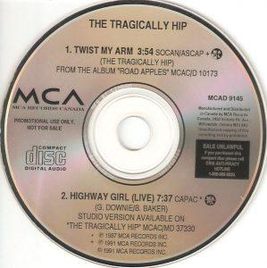Twist My Arm by Tragically Hip