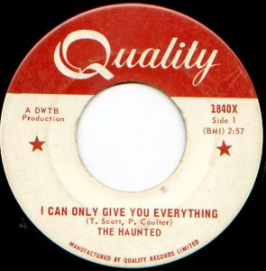 I Can Only Give You Everything by The Haunted