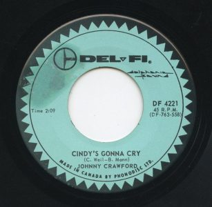 Cindy's Gonna Cry by Johnny Crawford