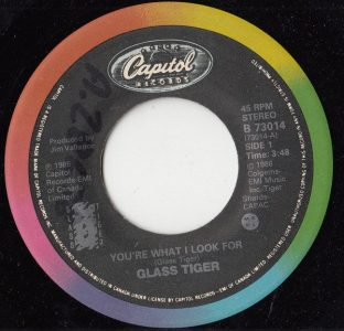 You're What I Look For by Glass Tiger