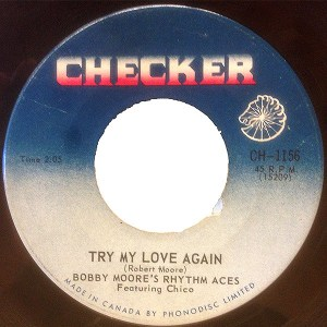 Try My Love Again by Bobby Moore's Rhythm Aces